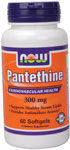 Pantethine 300 mg - 60 Softgels, NOW Foods