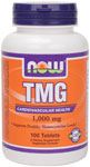 TMG  ( Trimethylglycine ) 1,000 mg - 100 Tabs, NOW Foods