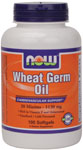 Wheat Germ Oil 20 Minims - 100 Gels, NOW Foods