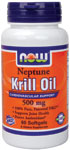 Krill Oil 500 mg - 60 Softgels, NOW Foods
