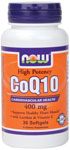 CoQ10 400 mg - 30 Softgels, NOW Foods