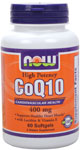 CoQ10 400mg - 60 Softgels, NOW Foods