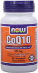 CoQ10 60 mg - 60 VCaps, NOW Foods