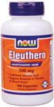 Eleuthero 500 mg - 100 Capsules, NOW Foods
