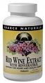 Red Wine Extract with Resveratrol, 60 tabs, Source Naturals