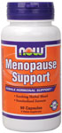 Menopause Support - 90 Capsules, NOW Foods