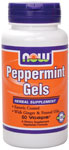 Peppermint Gels - 90 Gels, NOW Foods