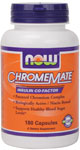 ChromeMate Chromium Supplement - 180 Capsules, NOW Foods
