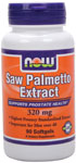 Saw Palmetto Extract 320 mg - 90 Softgels, NOW Foods