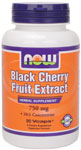 Black Cherry Fruit Extract 750 mg - 90 VCaps, NOW Foods