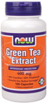 Green Tea Extract 400 mg - 100 Capsules, NOW Foods