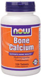 Bone Calcium Supplement - 120 Tabs, NOW Foods