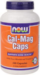 Cal-Mag - 240 Capsules, NOW Foods