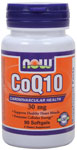 CoQ10 30 mg - 90 Softgels, NOW Foods