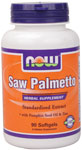 Saw Palmetto Extract - 90 Gels, NOW Foods