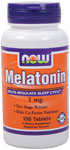 Melatonin 1 mg - 100 Tabs, NOW Foods