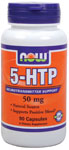 5-HTP 50 mg - 90 Capsules, NOW Foods