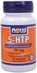 5 HTP 50 mg - 30 Capsules, NOW Foods