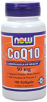 CoQ10 50 mg - 100 Softgels, NOW Foods