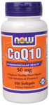 CoQ10 50 mg - 200 Softgels, NOW Foods
