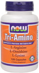 Tri-Amino - 120 Capsules, NOW Foods