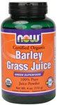 Barley Grass Juice - 4 oz., NOW Foods