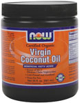 Virgin Coconut Oil - 20 oz., NOW Foods
