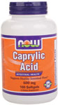 Caprylic Acid 600 mg - 100 Softgels, NOW Foods