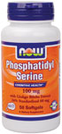 Phosphatidyl Serine 100 mg - 50 Gels, NOW Foods