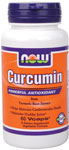 Curcumin 665 mg of Total Curcuminoids -60 VCaps, NOW Foods