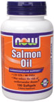 Salmon Oil 1000 mg - 100 Gels, NOW Foods