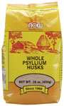 Psyllium Husks Whole Vegetarian - 1 lb., NOW Foods