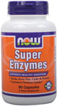 Super Enzymes Capsules - 90 Capsules, NOW Foods