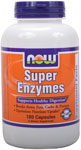 Super Enzymes Capsules - 180 Capsules, NOW Foods