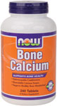 Bone Calcium - 240 Tabs, NOW Foods