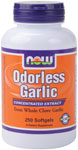 Garlic  ( Odorless ) - 250 Softgels, NOW Foods
