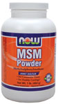 MSM Powder - 1 lb., NOW Foods