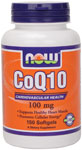 CoQ10 100 mg- 150 Softgels, NOW Foods