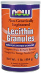 Lecithin Granules Non-GMO - 1 lb., NOW Foods