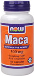 Maca 500 mg - 100 Capsules, NOW Foods