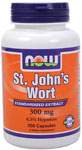 St. John's Wort 300 mg - 250 Capsules, NOW Foods