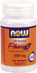 Phase 2 - 500 mg - 60 VCaps, NOW Foods