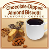 Chocolate-Dipped Almond Biscotti Flavored Coffee (1lb bag)