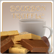 Decaf Bourbon Truffle Flavored Coffee (1/2lb bag)