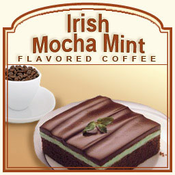 Irish Mocha Mint Flavored Coffee (1lb bag)