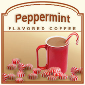 Peppermint Flavored Coffee (1lb Bag)