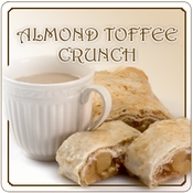 Decaf Almond Toffee Crunch Flavored  Coffee (1lb bag)