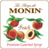 Monin Peach Syrup 750ml