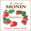 Monin Strawberry Syrup 750ml