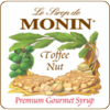 Monin Toffee Nut Syrup 750ml